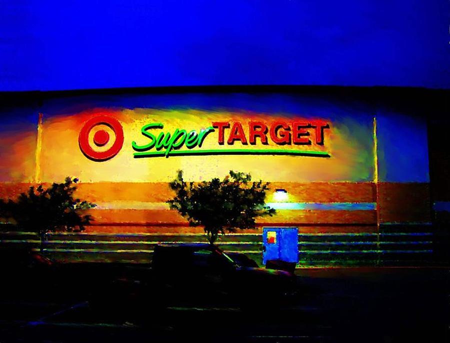 Target Super Store B Digital Art by P Dwain Morris