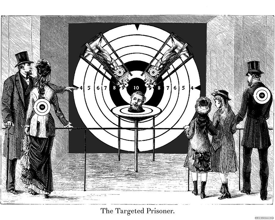 Targeted Prisoner Digital Art
