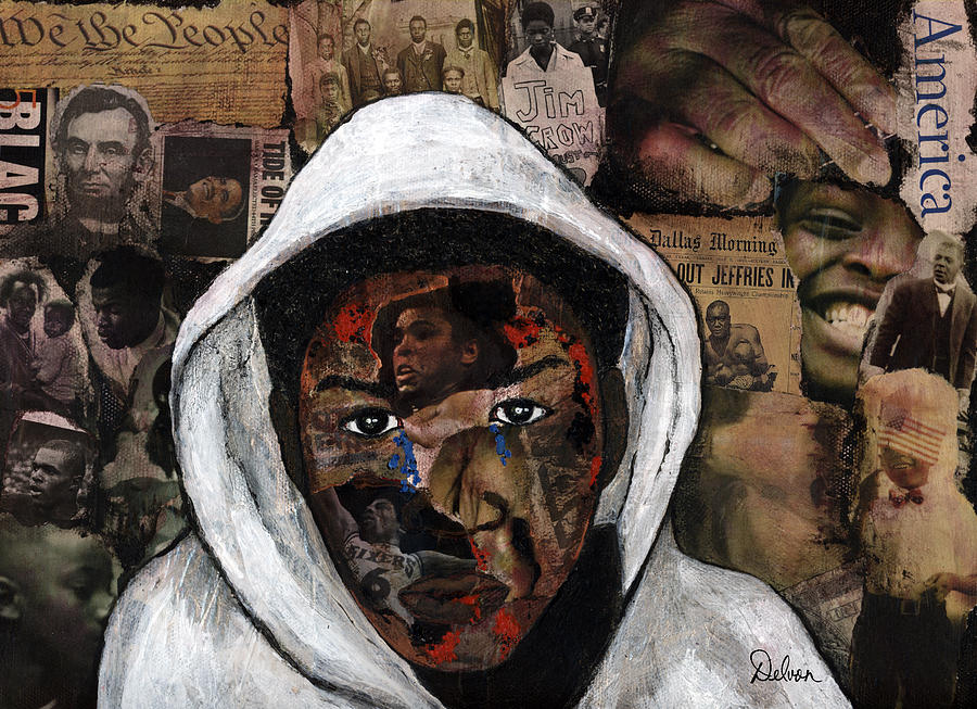 Black History Painting - Taste Of Freedom 2 by Delvon