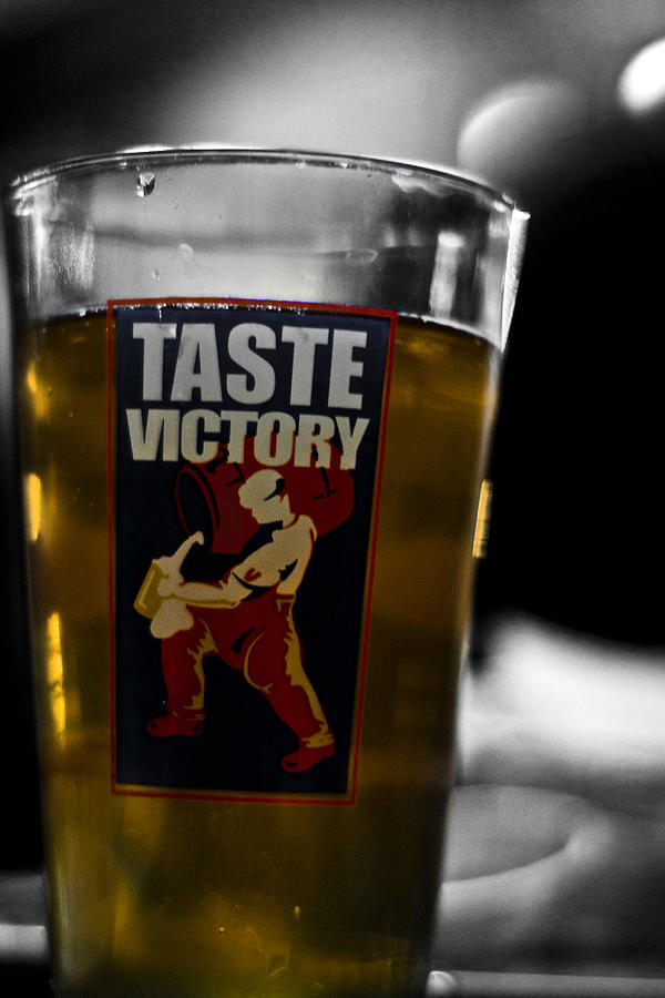Beer Photograph - Taste Victory by Zachary Hitchcock