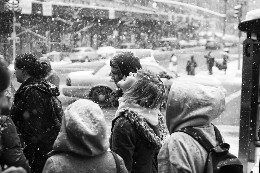 People Photograph - Tasteofsnow by Dave Beckerman