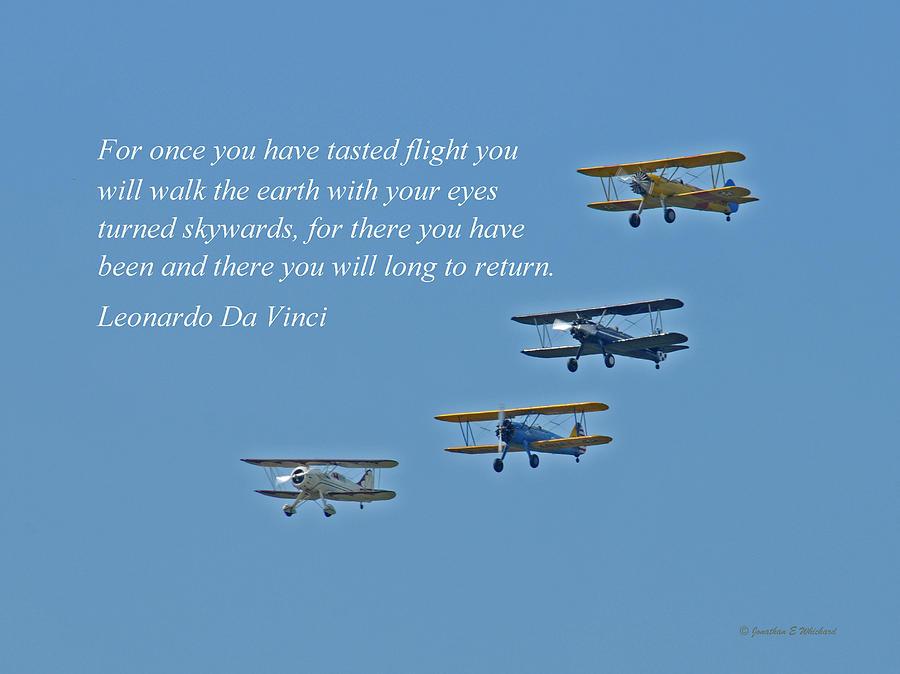 Flight Photograph - Tasting Flight by Jonathan E Whichard