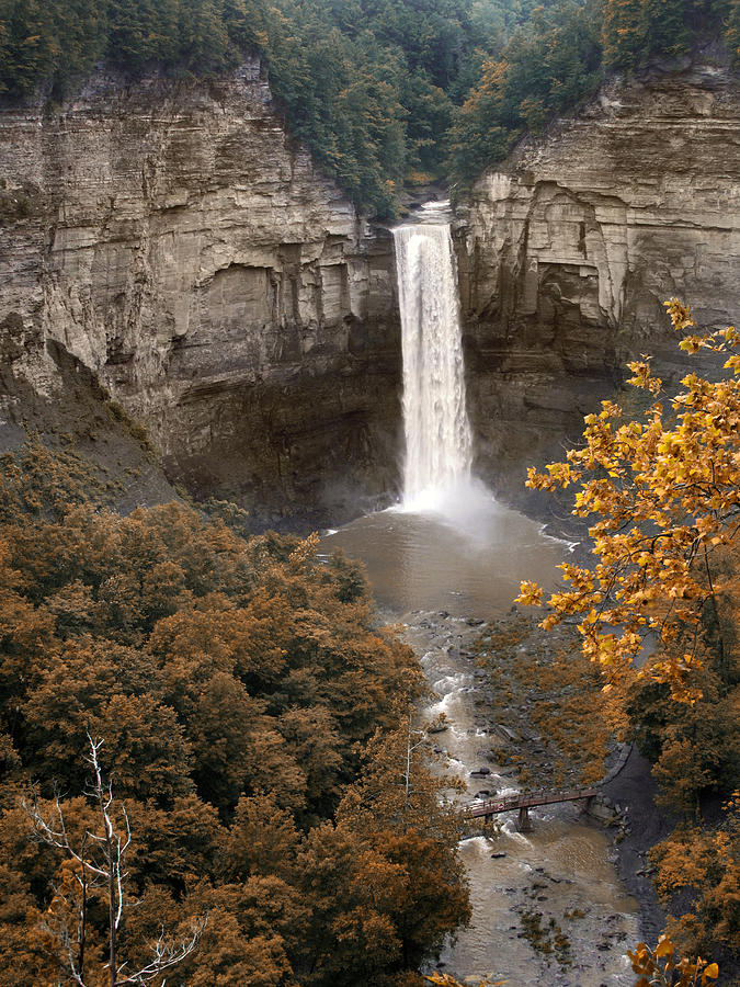 Landscape Photograph - Taughannock Falls Park by Jessica Jenney