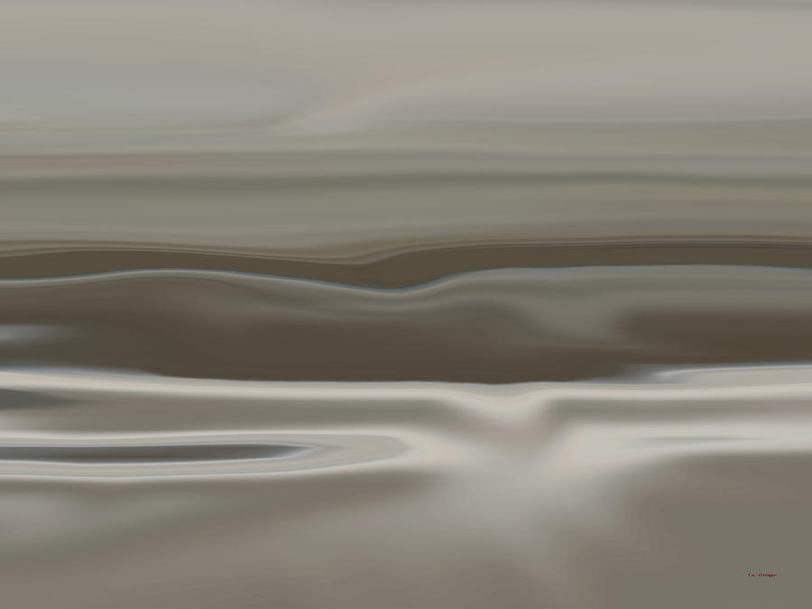 Dunes Painting - Taupe Dunes by Tim Stringer