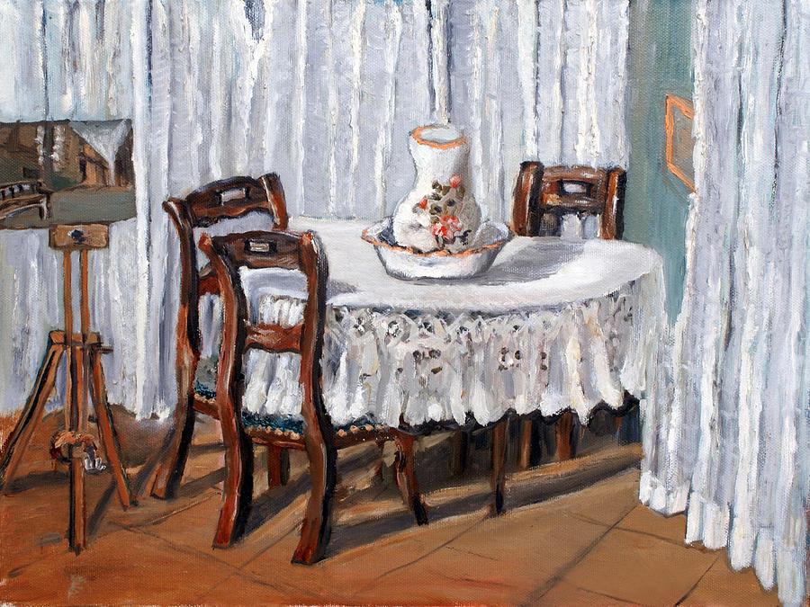 Home Painting - Tavolo by Niki Mastromonaco