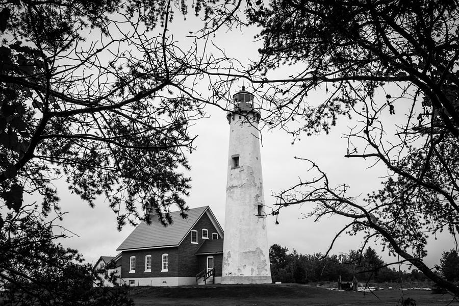 Lighthouse Photograph - Tawas Point Lighthouse by Kimberly Kotzian