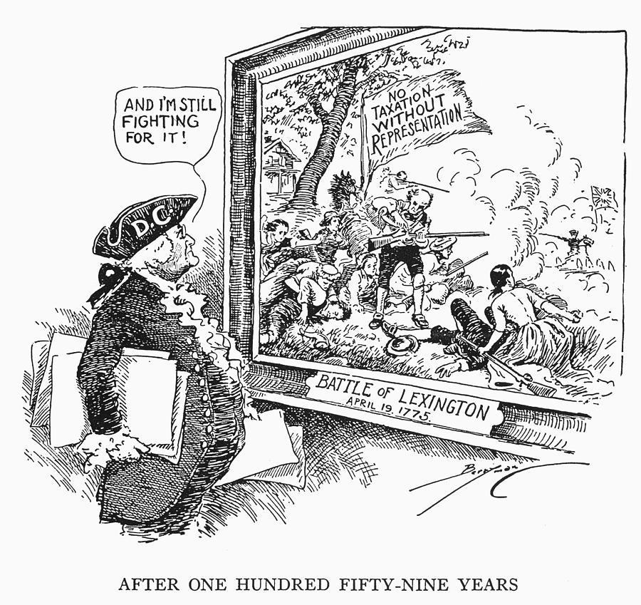 1775 Photograph - Taxation Cartoon, 1934 by Granger