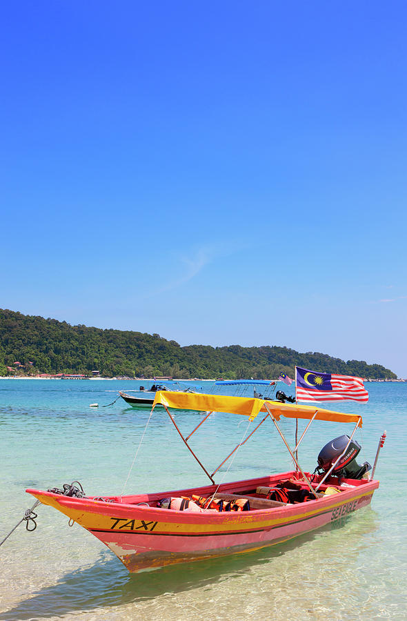 Taxi Boat, Perhentian Islands Photograph by Laurie Noble