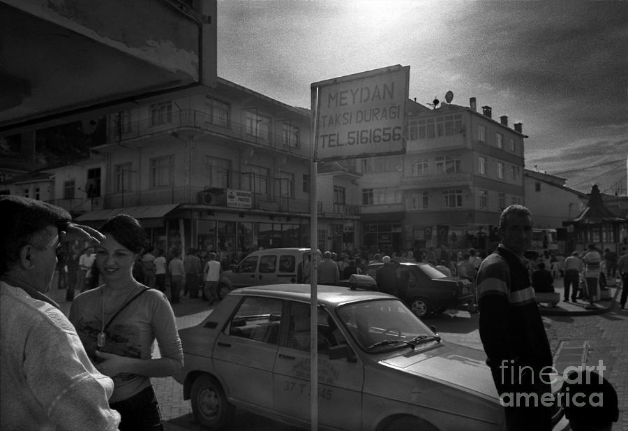 Taxi Photograph - Taxi Point by Candido Salghero