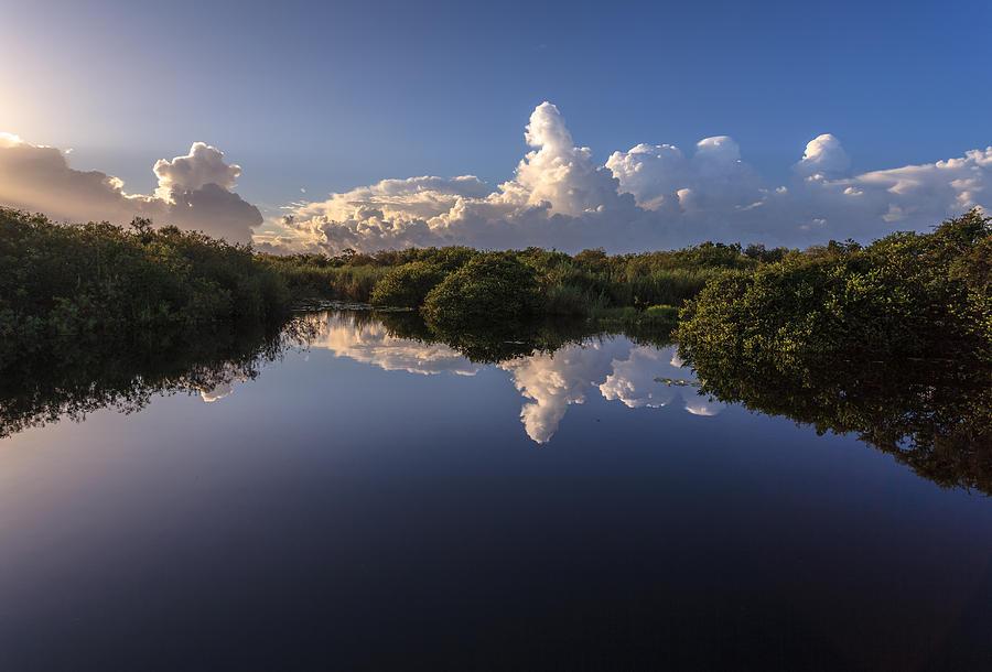 Everglades Photograph - Taylor Slough by Jonathan Gewirtz