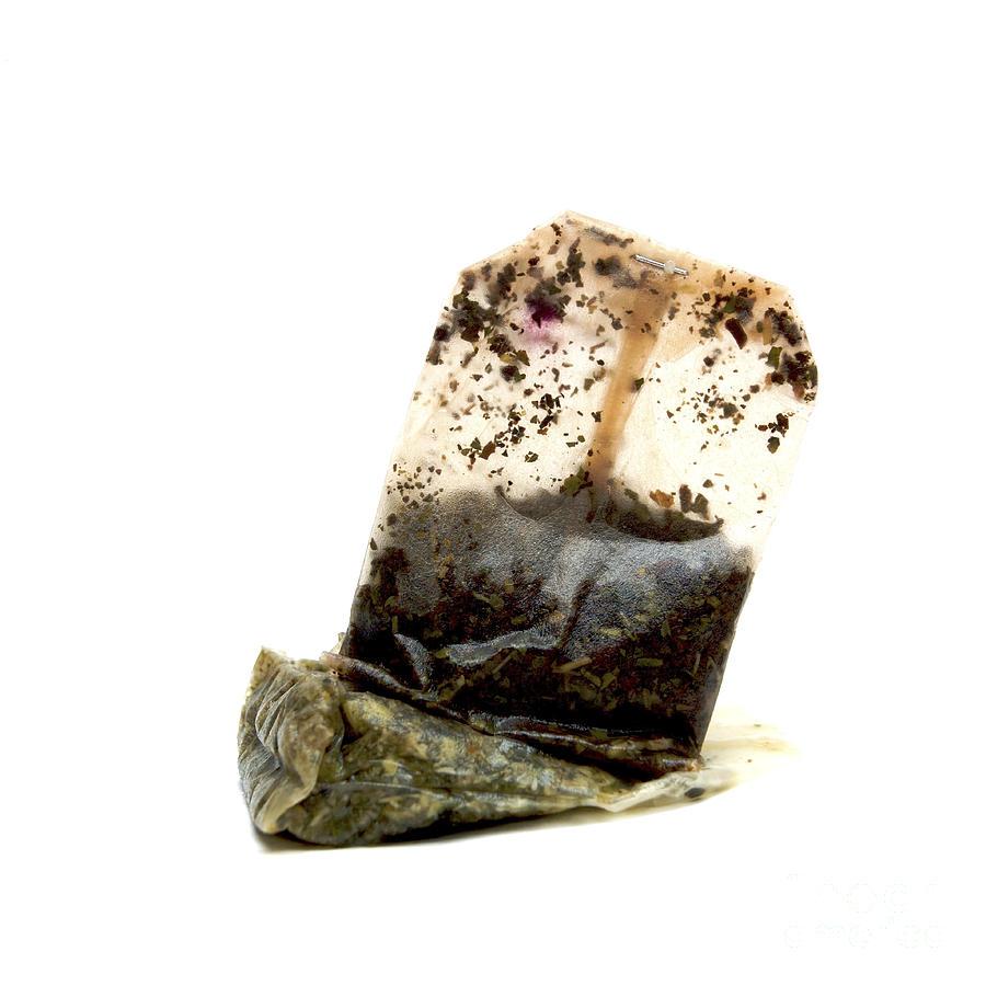 Indoors Photograph - Tea Bag by Bernard Jaubert
