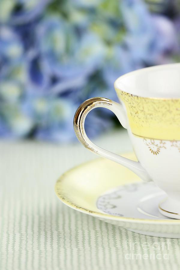 Tea Photograph - Tea Cup by Stephanie Frey