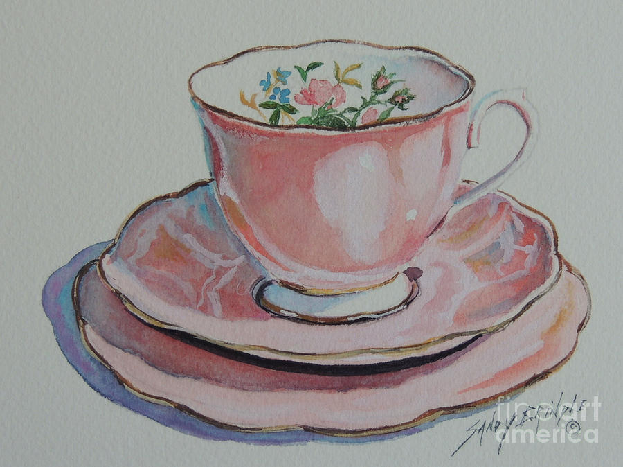 Tea for Me  SOLD by Sandy Brindle