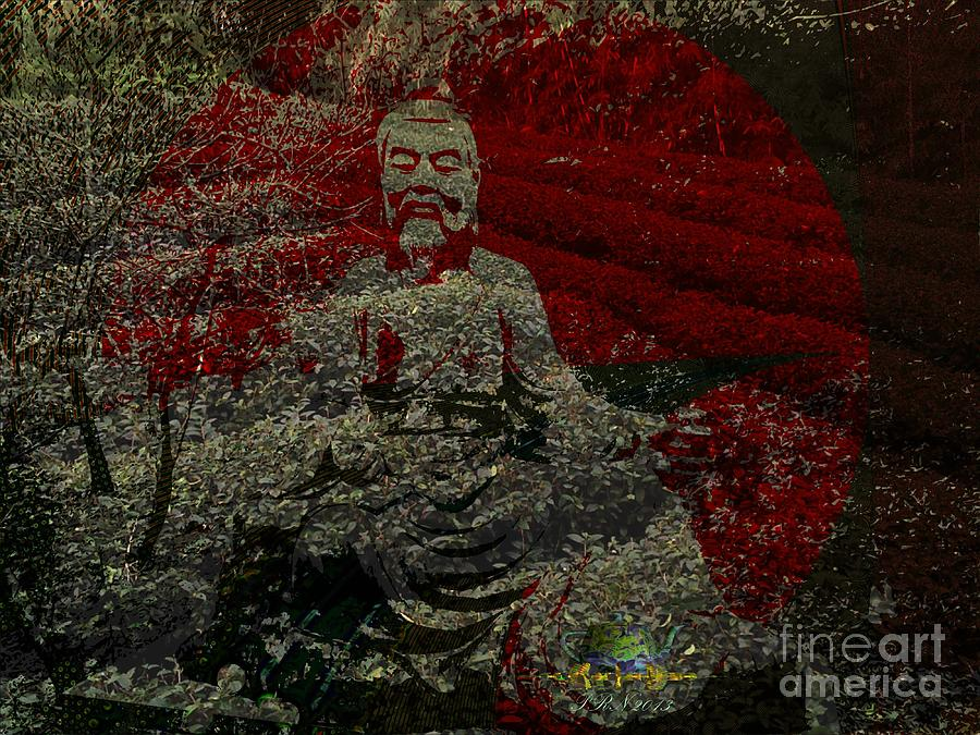 Tea Digital Art - Tea Meditation by Peter R Nicholls