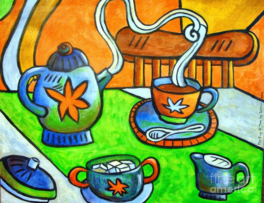 Tea Party Mixed Media - Tea Party by Doreen Kirk
