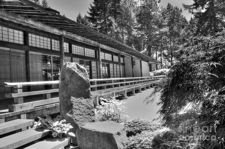 Portland Photograph - Tea Room At The Japanese Garden by David Bearden