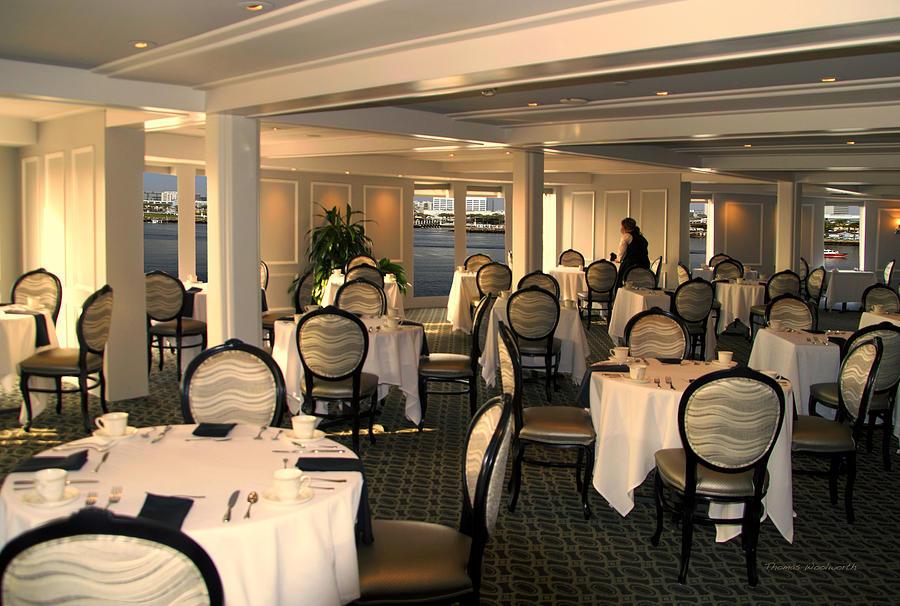 Tea Room Queen Mary Ocean Liner Long Beach Ca Photograph by Thomas ...