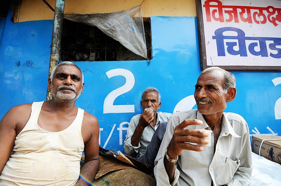 People Photograph - Tea Time by Money Sharma
