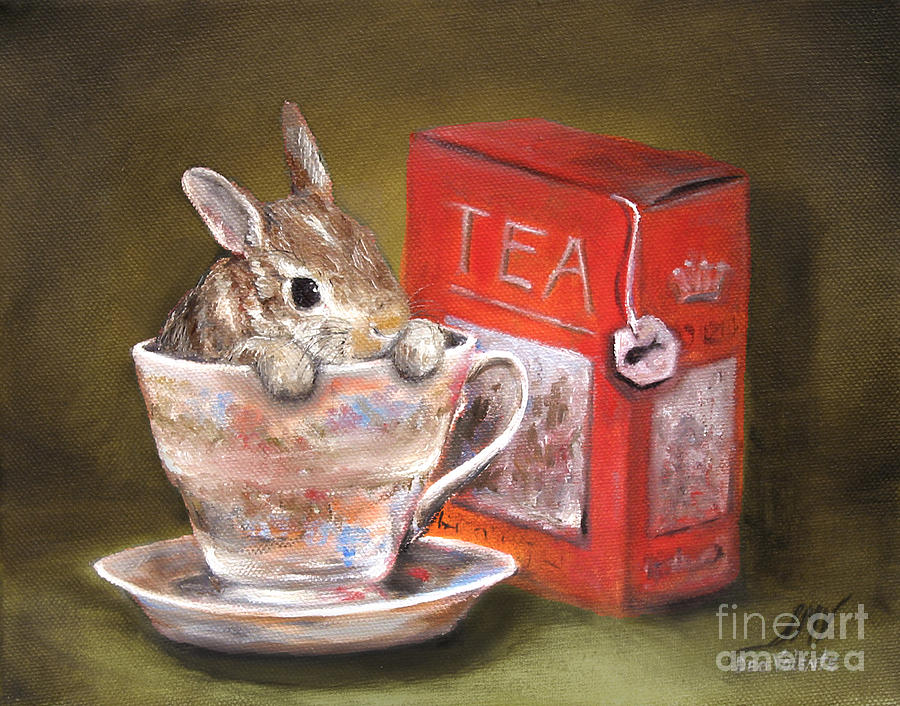 Tea Time by Stella Violano