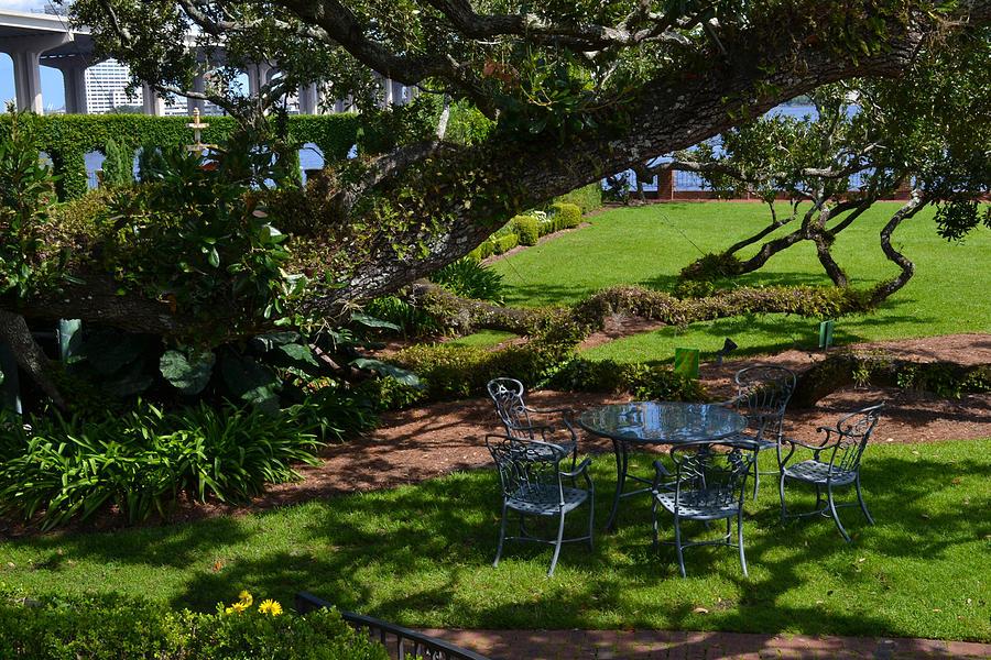 Garden Photograph - Tea Time by Victoria Clark