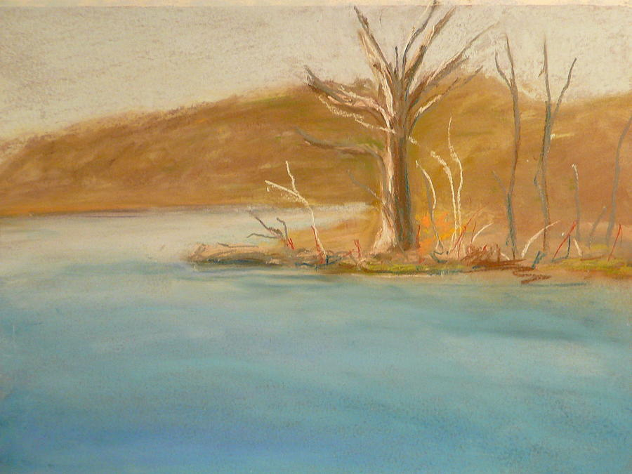 Lake Pastel - Tea Town by Valerie Lynch