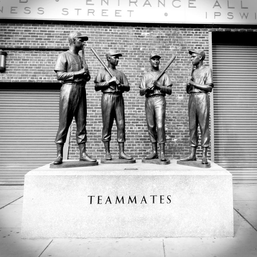 Boston Photograph - Teammates by Greg Fortier
