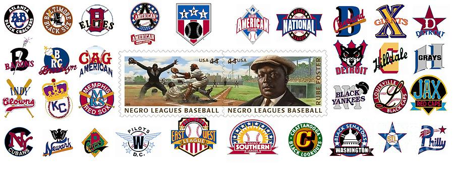 Negro Leagues Photograph - Teams Of The Negro Leagues by Mike Baltzgar