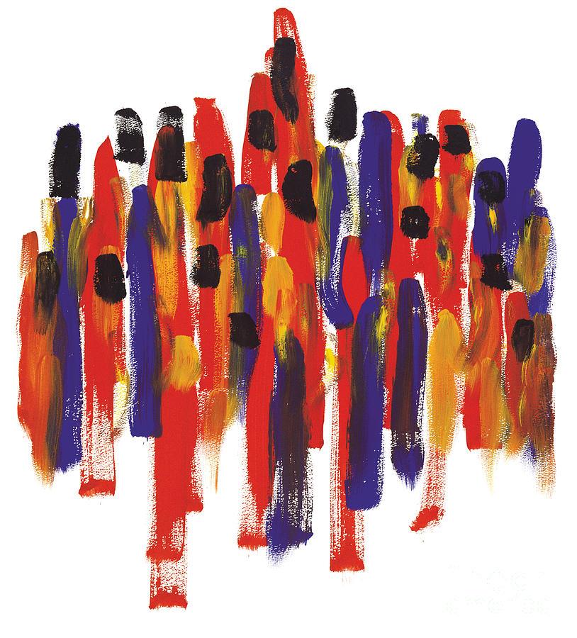 Teamwork Painting - Teamwork by Bjorn Sjogren