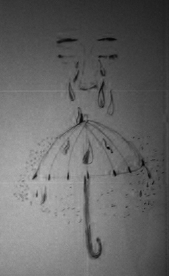 Tears Drawing - Tears From Above by Jesse Johnson