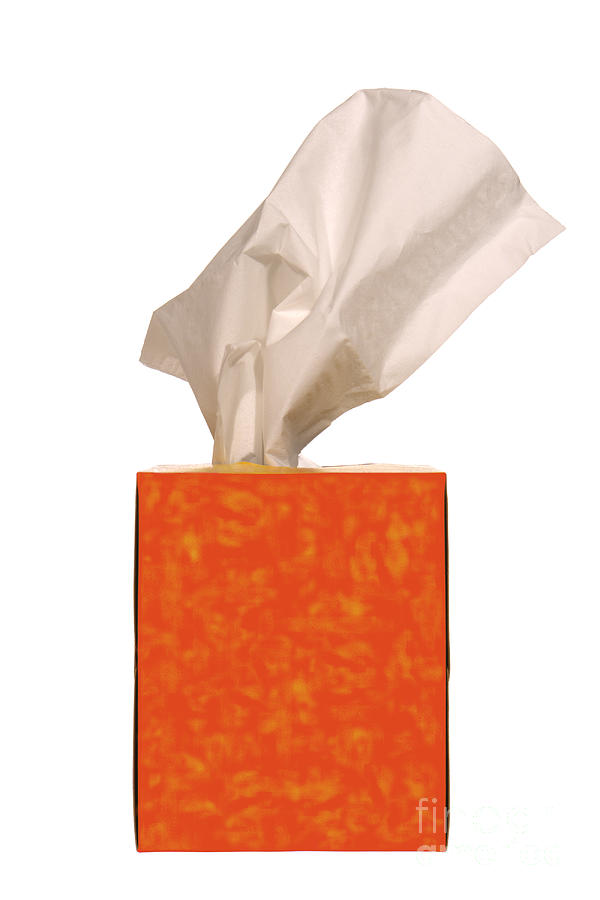 Tissue Photograph - Tears Quencher  by Olivier Le Queinec