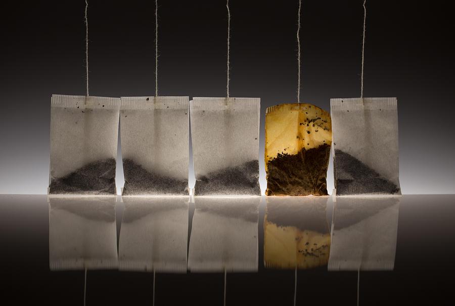 Tea Photograph - Teascape by Wieteke De Kogel