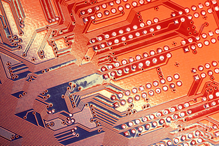 Abstract Photograph - Tech Abstract by Tony Cordoza