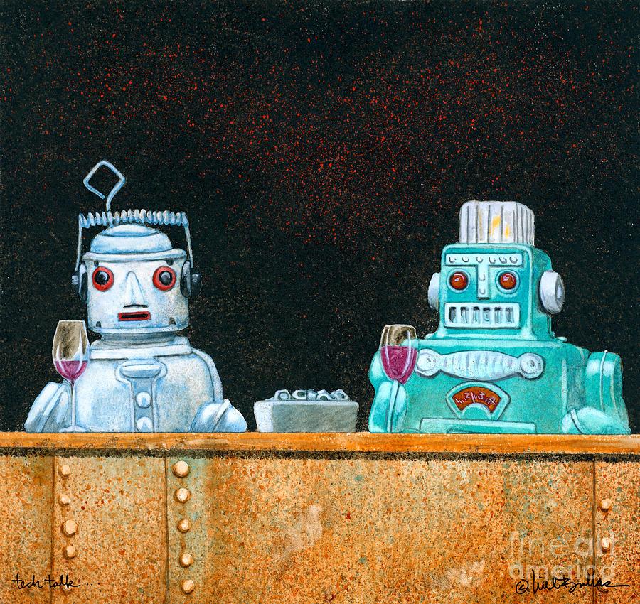 Will Bullas Painting - Tech Talk... by Will Bullas