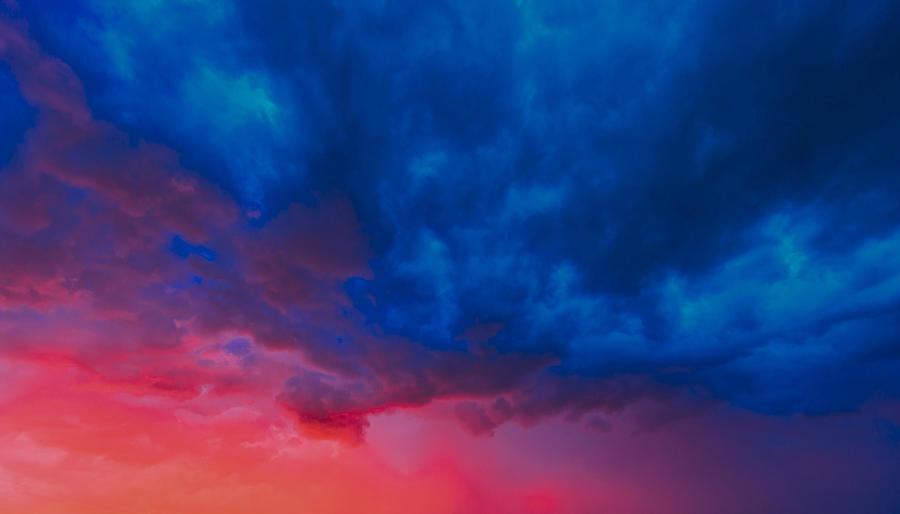 Technicolor Sky Photograph by Rick Furmanek