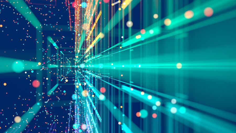 Technology abstract Photograph by Piranka
