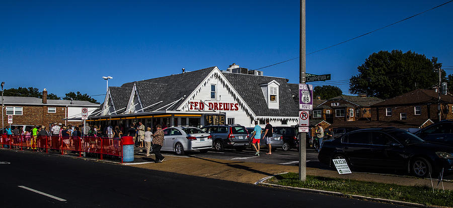 Missouri Photograph - Ted Drewes by Angus Hooper Iii