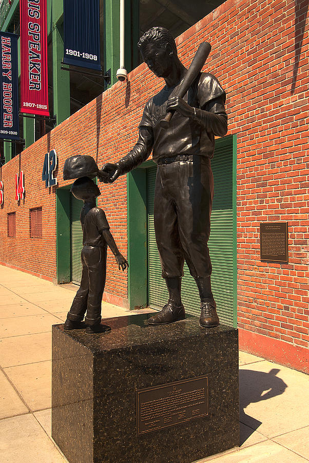 fenway Park  - Ted Williams by Paul Mangold