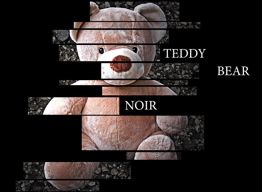 Bear Photograph - Teddy Bear Noir by William Patrick