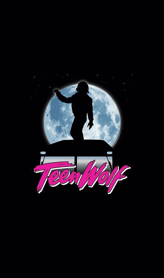 Teen Wolf - Moonlight Surf Digital Art by Brand A