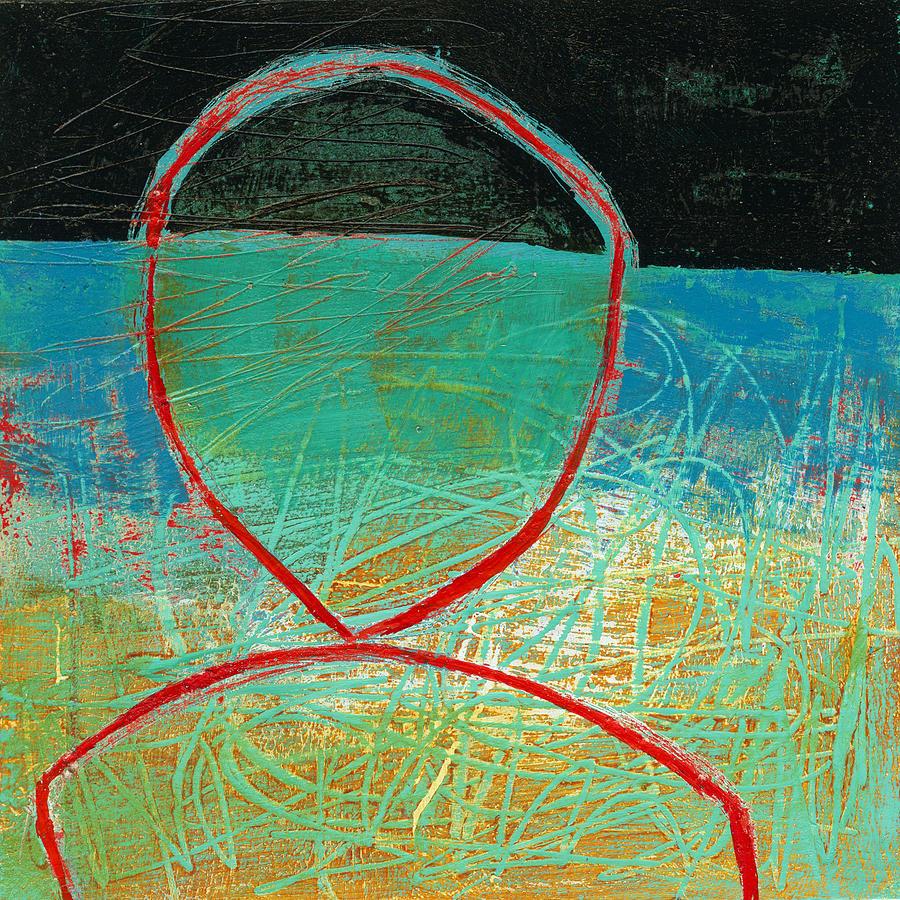 Jane Davies Painting - Teeny Tiny Art 116 by Jane Davies