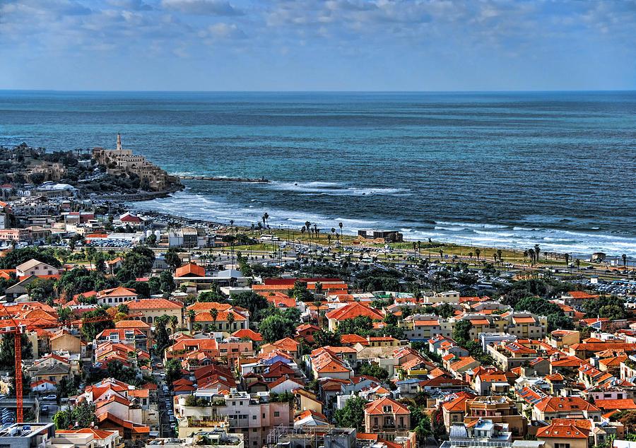 Israel Photograph - Tel Aviv spring time by Ron Shoshani