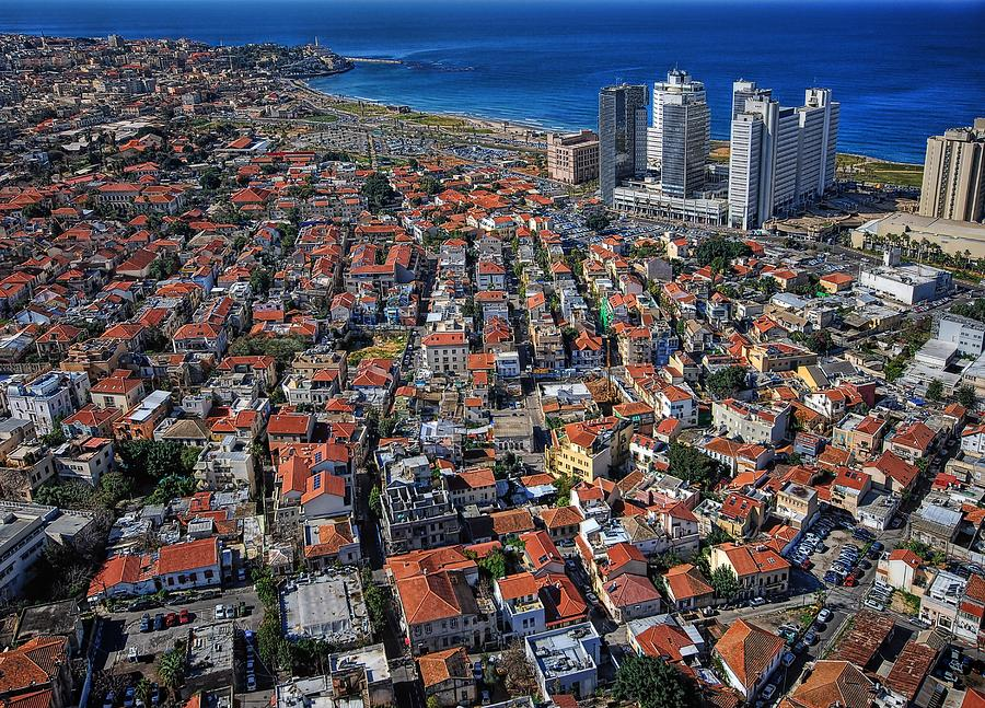 Israel Photograph - Tel Aviv - The First Neighboorhoods by Ron Shoshani