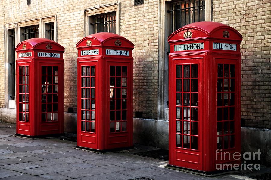 Landmark Photograph - Telephone Choices by John Rizzuto