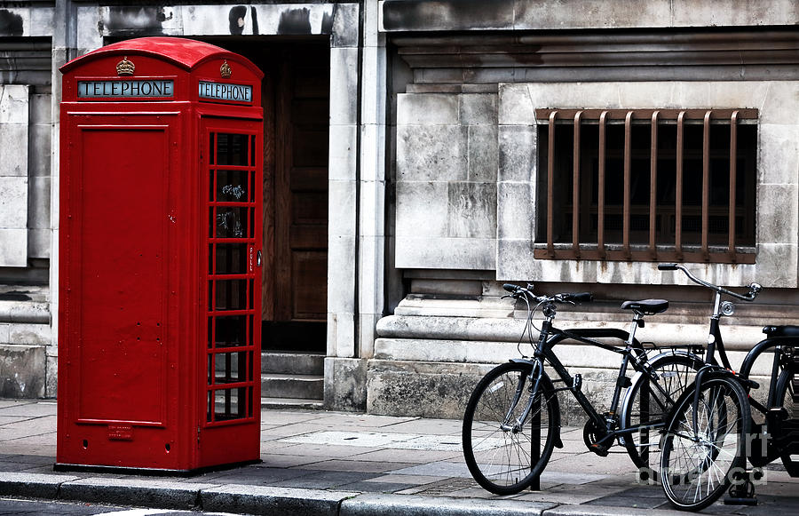 Telephone Photograph - Telephone In London by John Rizzuto
