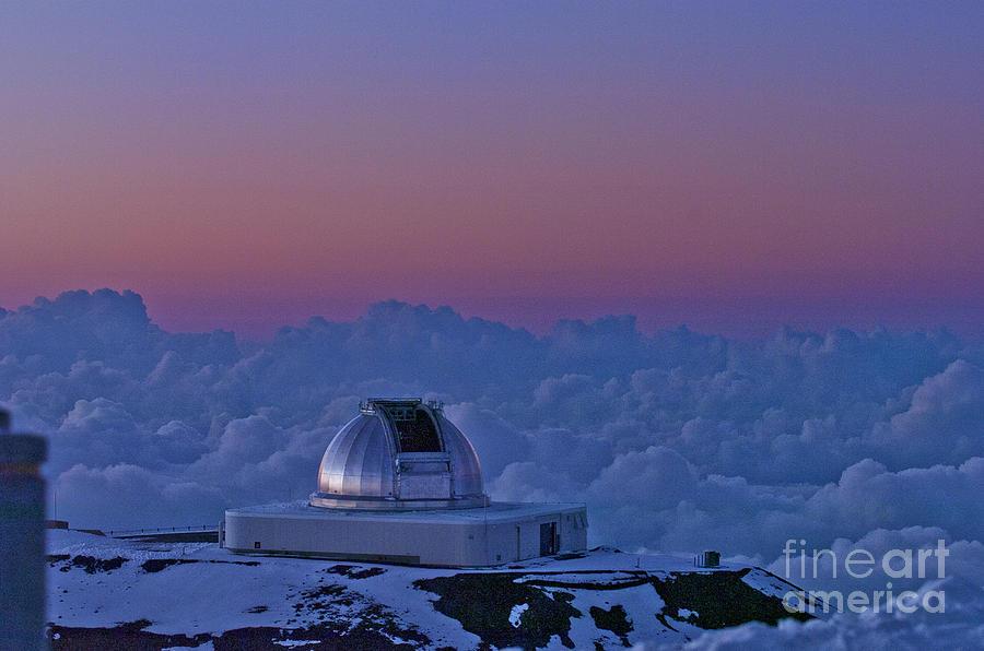 Landscape Photograph - Telescope by Karl Voss