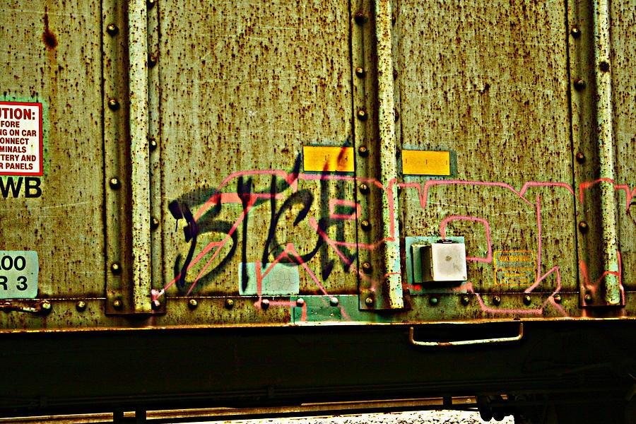 Train Car Photograph - Tell Me How You Really Feel by Alexandra  Rampolla