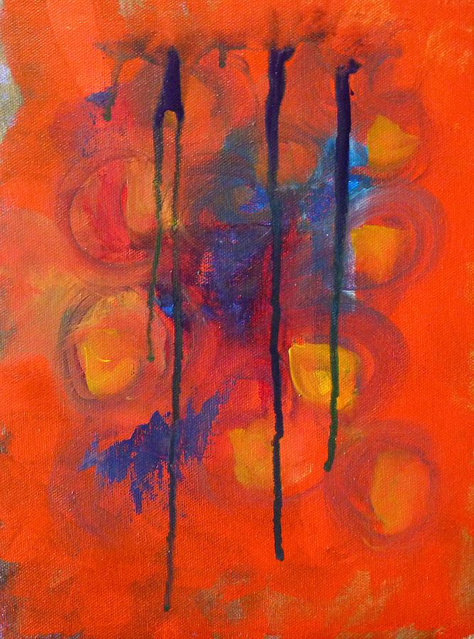 Temper Tantrum Painting - Temper Tantrum by Nancy Merkle
