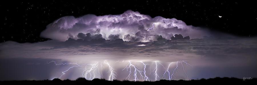 Lightning Photograph - Tempest - Craigbill.com - Open Edition by Craig Bill