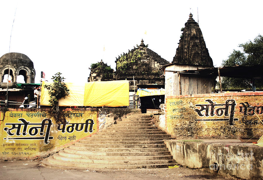 Village Photograph - Temple In India by Sumit Mehndiratta