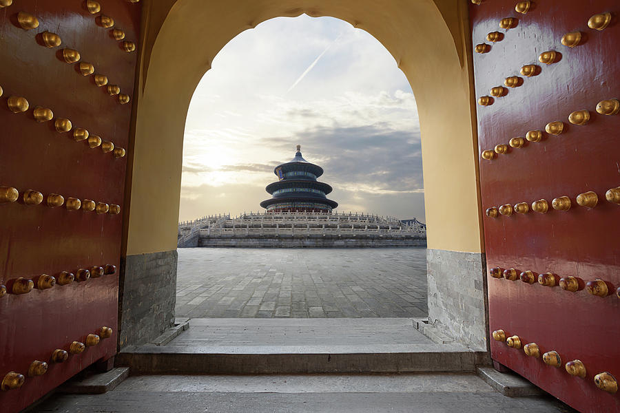 Temple Of Heaven Photograph by Zyxeos30